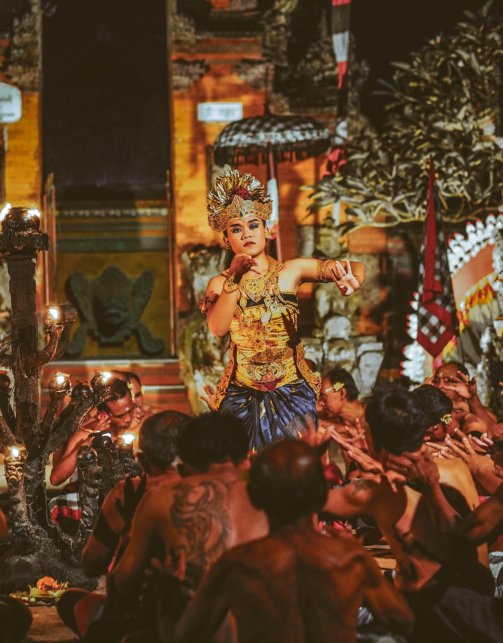 Balinese temple dance with Helenika Travels