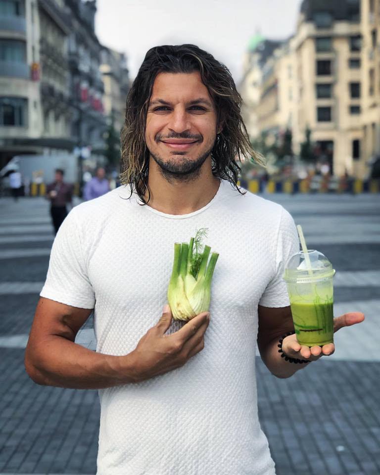 Tariq Amawi going green hearted in the city