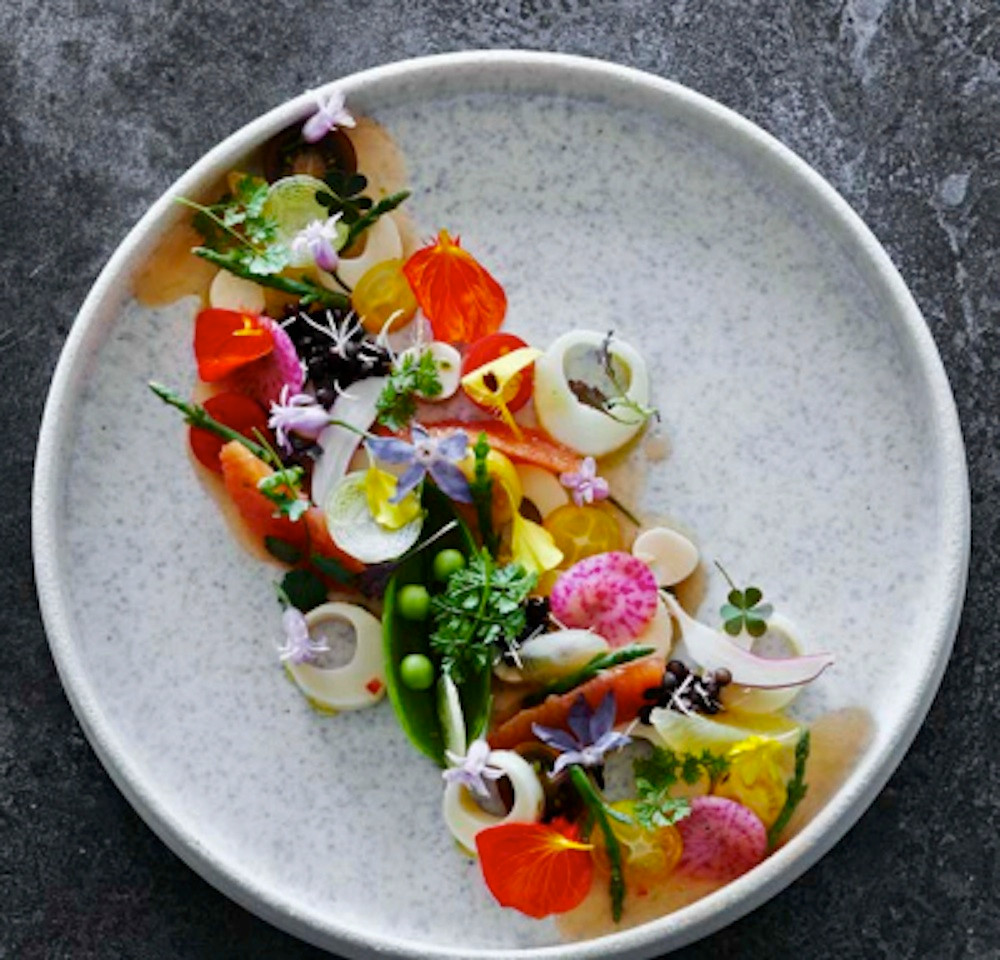 Helenika Travels beautiful plating detox food retreat