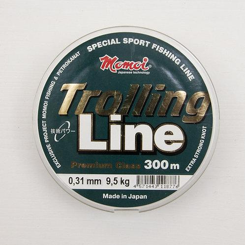 Леска Momoi Trolling Line 0,31 мм. в размотке 300 метров (Япония)