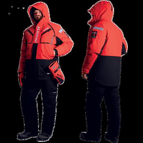 Костюм-поплавок зимний Alaskan Cherokee, цвет красный/черный, размер L
