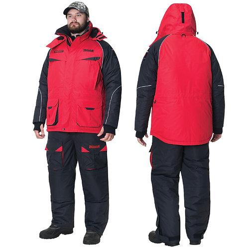 Костюм зимний Alaskan NewPolar, цвет красный/черный, размер XXXL King