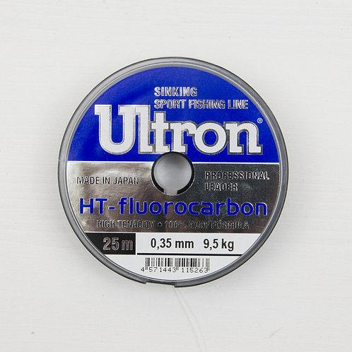 Поводковый флюрокарбоновый материал Ultron 25 м, 0,35 мм