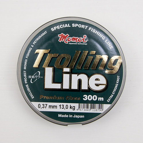 Леска Momoi Trolling Line 0,37 мм. в размотке 300 метров (Япония)