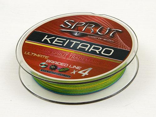 Шнур Sprut keitaro x4 140m Multicolor 0,16 мм