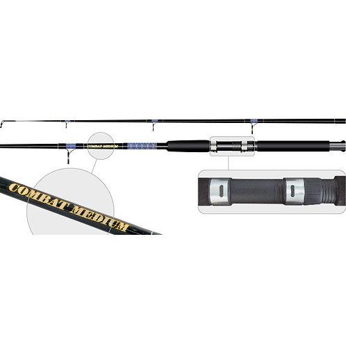 Спиннинг штекерный стекло 2 колена Surf Master 1372 Combat Medium 180 см.