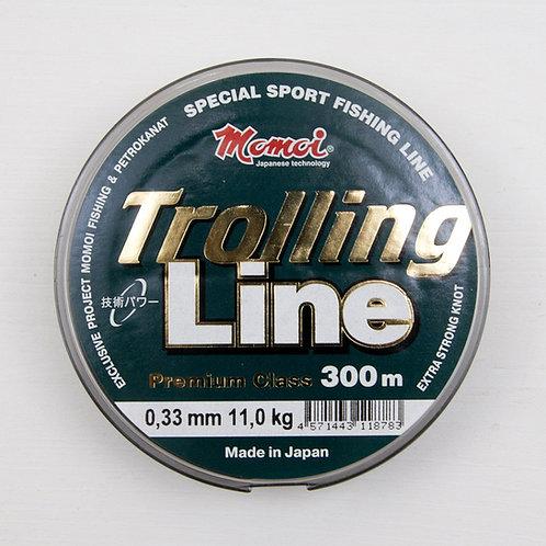 Леска Momoi Trolling Line 0,33 мм. в размотке 300 метров (Япония)