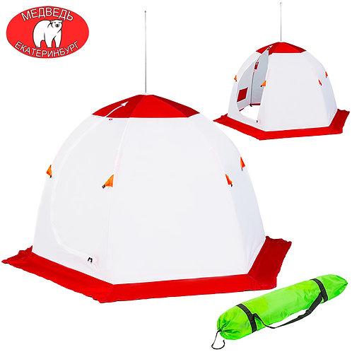 Палатка зимняя зонт Медведь двухместная (6 лучей), без брезента