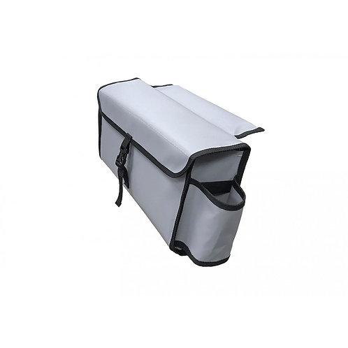 Сумка с бутылкодержателями на лик-трос для лодок ПВХ, 40 см
