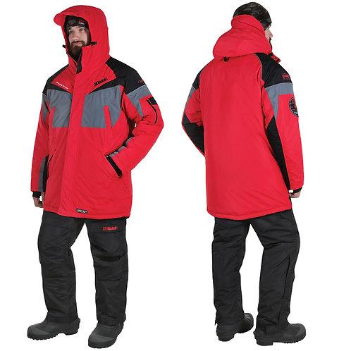 Костюм зимний Alaskan Dakota, цвет красный/серый/черный, размер XXL