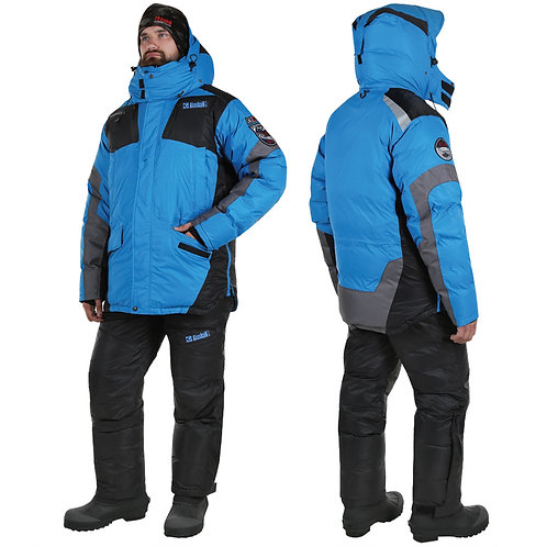 Костюм зимний Alaskan Anchorage, цвет черный/серый/синий, размер S