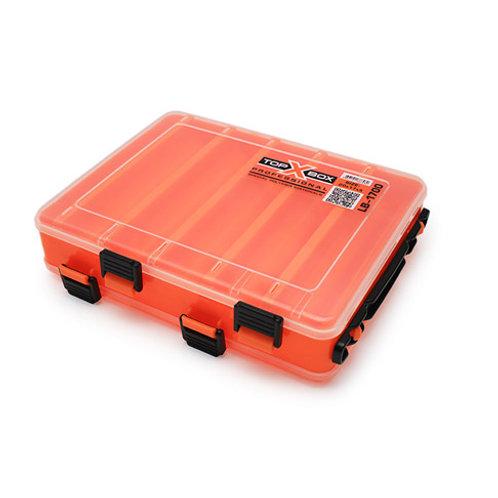 Коробка для хранения воблеров TOP BOX LB-1700 200*170*50 мм., цвет оранжевый