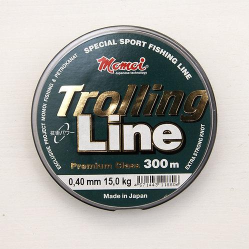 Леска Momoi Trolling Line 0,4 мм. в размотке 300 метров (Япония)