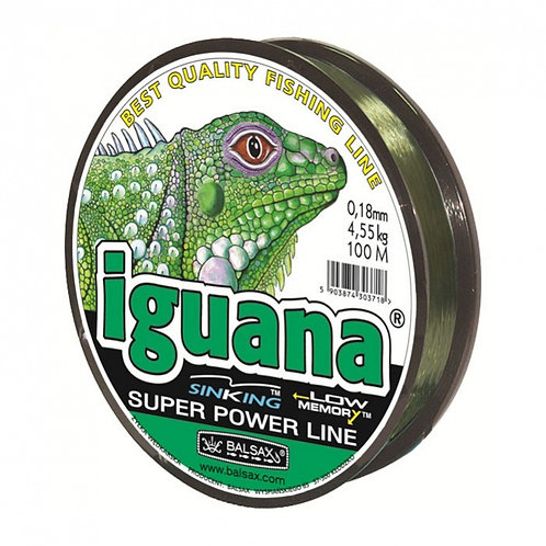 Леска Зимняя Balsax Iguana (Sinking/0,14mm/2,55kg/30m) 1упак*10шт