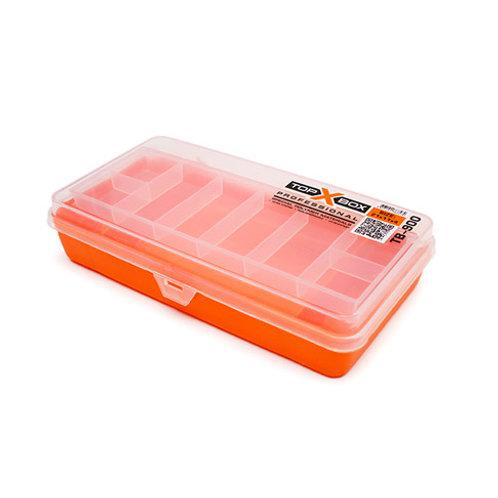 Коробка для хранения воблеров TOP BOX TB-900 210*110*40 мм., цвет оранжевый