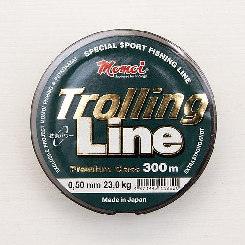 Леска Momoi Trolling Line 0,5 мм. в размотке 300 метров (Япония)