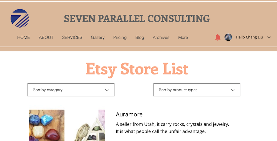 Etsy market data | store listings and ranking