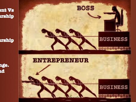 Job vs. Entrepreneurship debate: From a entrepreneur who quit his job