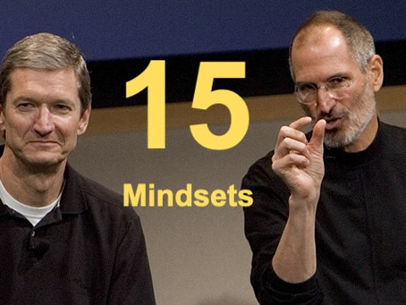 Top 15 elements of successful entrepreneur mindset