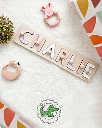 Children name puzzle, gift, toy