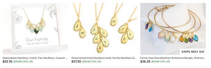 jewelry, necklace, gifts, bracelets, earnings