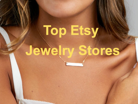 The Best Etsy Jewelry Shops: Ranking and Database List
