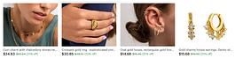 jewelry, necklace, rings, bracelets