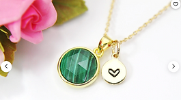 Personalize gemstone and crystal jewelry