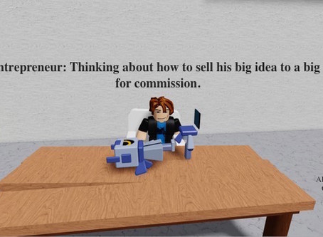 Jack the entrepreneur: thinking in vacuum, about business