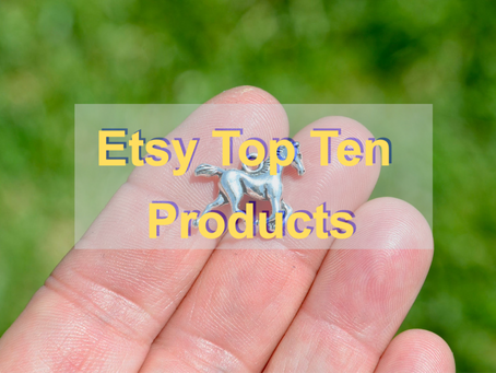 Top ten best selling products on Etsy