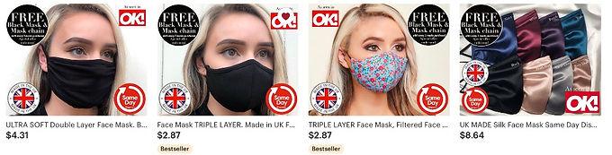 masks, face masks