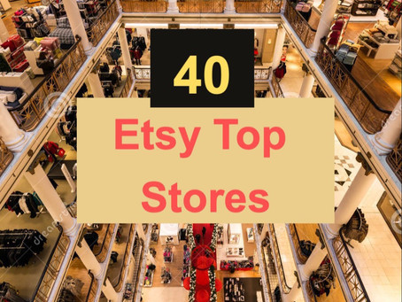 The Best Etsy Shops: Top 40 Ranked List