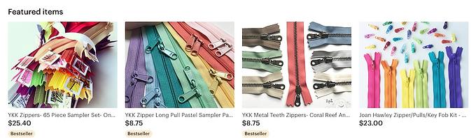 zipper parts, zipper