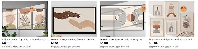 digital wall art, digital art