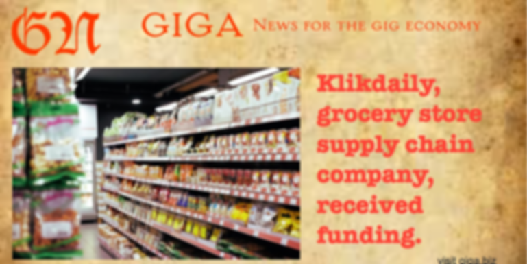 Grocery store supply chain company received funding