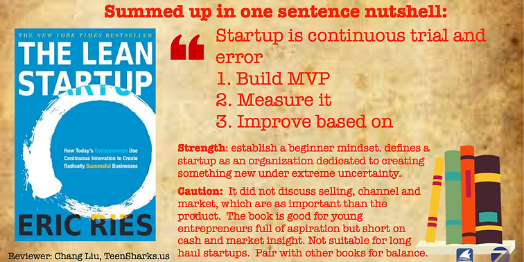 """Review of """"Lean Startup"""""""