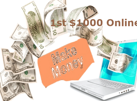 Startup Execution Note: Making First 1000 dollar online stories