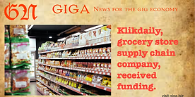 Klikdaily, an Indonisia B-2-B family grocery store supply chain supplier got funding