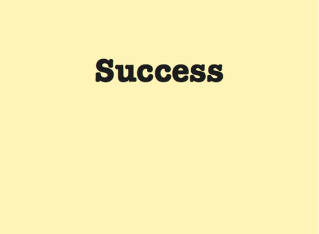 How to achieve success? what is the key to have success in life?