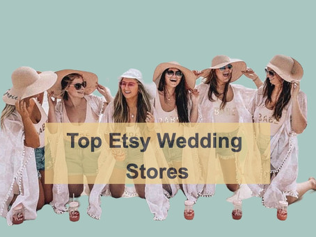 Top Etsy Wedding Stores