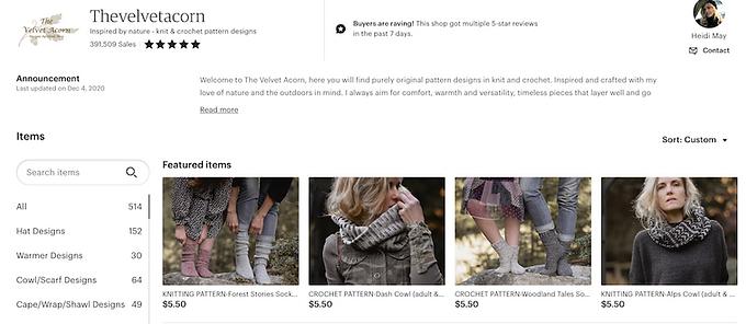 crochet patterns, digital product