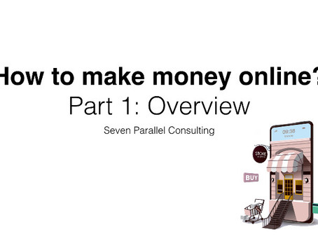 How to make money online - Basic Strategies and glossary