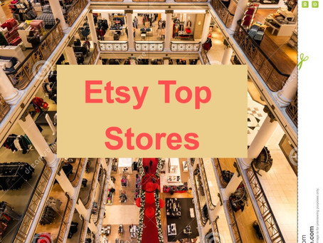 Top 30 Etsy Stores