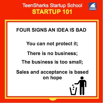 four symptoms of a bad idea