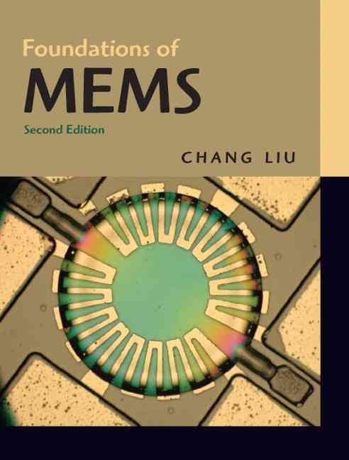 Cover of Foundations of MEMS, second edition