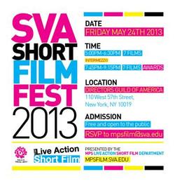SVA Short Film Fest 2013
