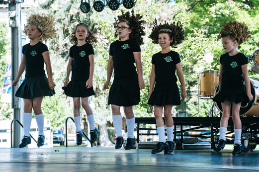 Irish Dancers, One Ohana, Inc.