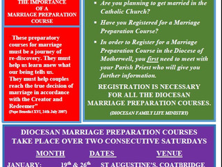 Marriage Preparation Courses 2019