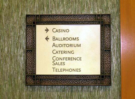 Casino Wall Direction