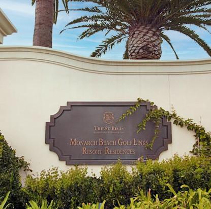 St. Regis Residents Monument Sign
